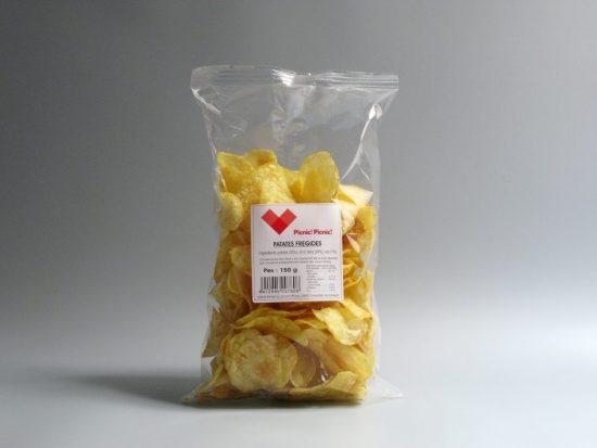 Patatas chips artesanas