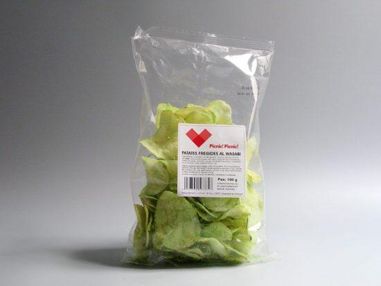 Chips de wasabi